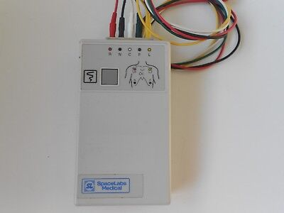 Spacelabs Digital Telemetry Transmitter 90341-50 Ch.No.426.+ Cables Free UK P&P.