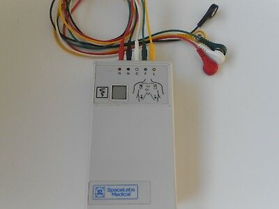 Spacelabs Digital Telemetry Transmitter 90341-50 Ch.No.422.+ Cables Free UK P&P.