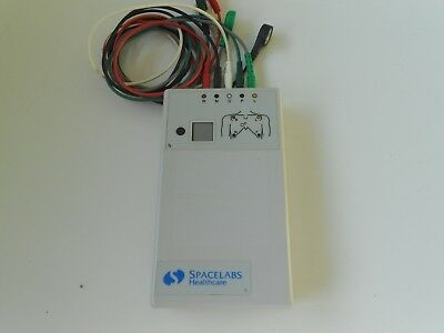 Spacelabs Digital Telemetry Transmitter 90341-50 Ch.No.334.+ Cables Free UK P&P.