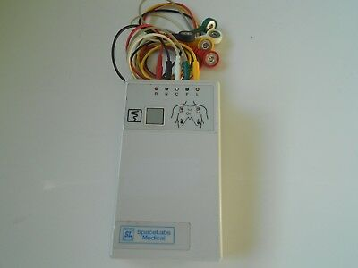 Spacelabs Digital Telemetry Transmitter 90341-50 Ch.No.431.+ Cables Free UK P&P.