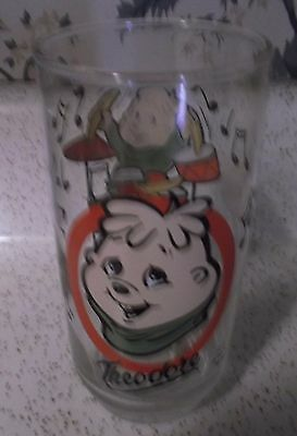 Theodore (The Chipmunks) 1985 Collector's Glass