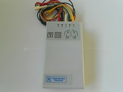 Spacelabs Digital Telemetry Transmitter 90341-50 Ch.No.430.+ Cables Free UK P&P.