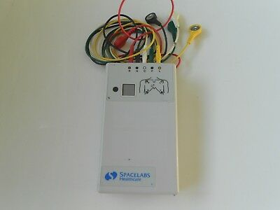 Spacelabs Digital Telemetry Transmitter 90341-50 Ch.No.330.+ Cables Free UK P&P.