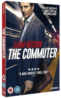 The Commuter 2018 - DVD - Liam Neeson - Brand New and Sealed