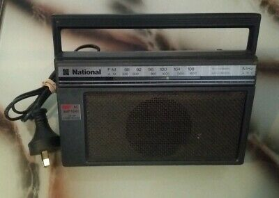 Vintage National Transistor Radio Model RF-538A~Extremely Rare~Working