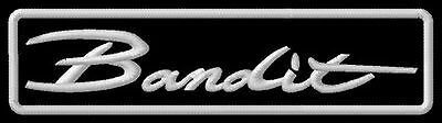Suzuki Bandit 600 400 GSF 600S 650 1200 1250 GSF600  embroidered iron-on patch