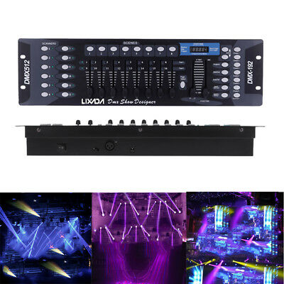 Lixada 192 Channels DMX-512 Controller Stage Light DJ Party Laser Operator Z2H4