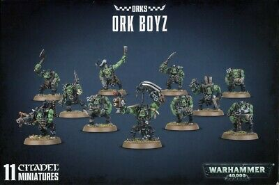 Ork Boyz Games Workshop Brand New 99120103052