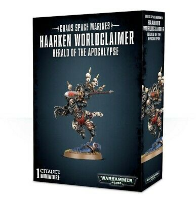Chaos Space Marines Haarken Worldclaimer Games Workshop Warhammer 40000 New