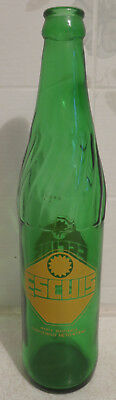 Rare Vintage Escuis soda pop bottle Mexico 16oz Coca Cola Owned