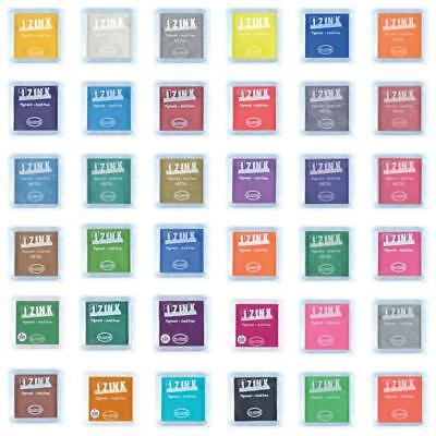 Izink Pigment Ink Pads for Stamping in Multiple Colours