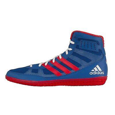 adidas Mat Wizard 3 David Taylor Edition Wrestling Shoes - Royal Red White - dd86e9e58