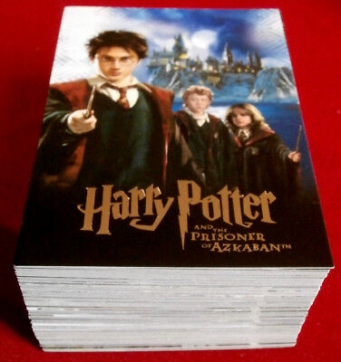 HARRY POTTER - PRISONER OF AZKABAN - COMPLETE BASE SET of 90 cards ARTBOX - 2004
