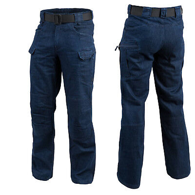 Helikon Tex Urban Tactical Pants UTP Jeans Mid Denim Dark Blue Polizei Security