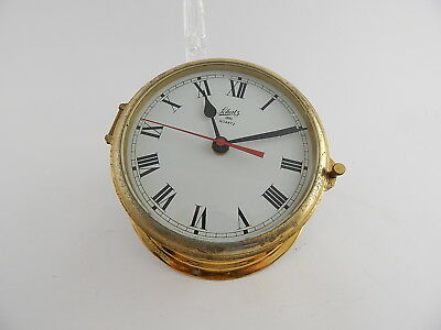 Vintage Schatz Quartz Royal Mariner West Germany Orologio Ship's Bell Clock