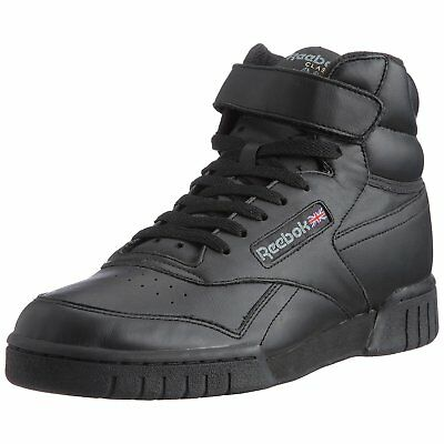 Reebok Alte Mid Ex-O Fit Hi 3478 Pelle Uomo Nero Black Leather 41 42 43 44 45