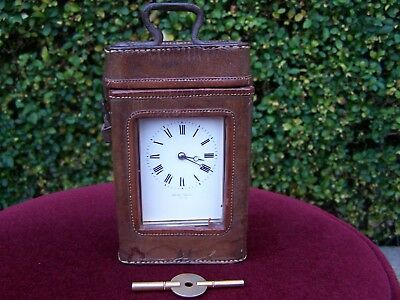 French Timepiece Carriage Clock