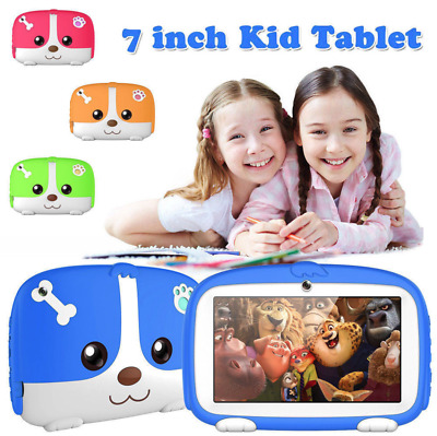 7'' Inch Kids Android 4.4 Tablet Pc 1G+8G Quad Core Wifi Camera Child Children