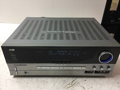 HARMAN KARDON AVR 335 7 1 Channel Surround Sound Audio/Video