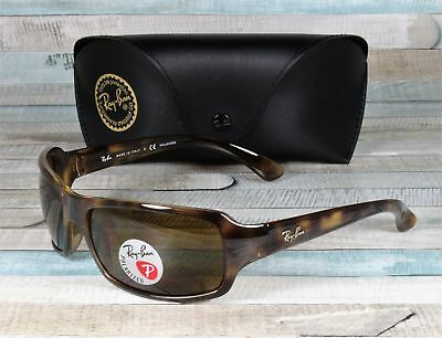 ef34764ce83 RayBan RB4075-642 57 HAVANA crystal brown Polarized 61 mm Men s Sunglasses