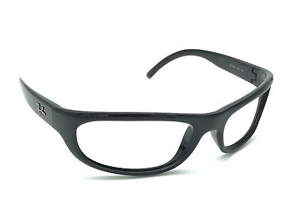 7ae66d8cd8 Ray-Ban RB 4033 601 Predator Polished Black Wrap Sunglasses Frame Only Italy
