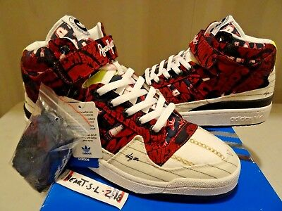 e3891b3838cf4 NEW DS Adidas Forum Mid D Hug - DQM x Huf x Undefeated x Goodfoot SZ