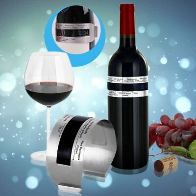 Stainless Steel LCD Electric Red Wine Digital Thermometer Temperature Meter ~3