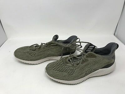 21d415453420 NEW ADIDAS ALPHABOUNCE EM Mens Running Trainers Shoes Ivory US 8 ...