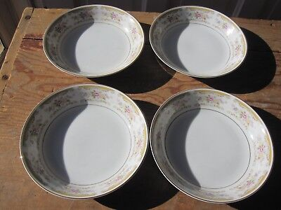 4 Montgomery Ward Chippendale Soup bowls