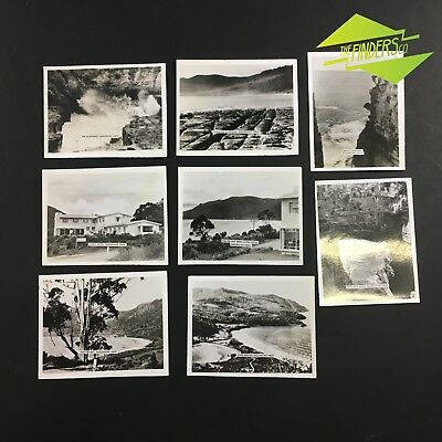 LOT x8 VINTAGE c.1940's EAGLEHAWK NECK TASMANIA PHOTOGRAPHS POSTCARDS