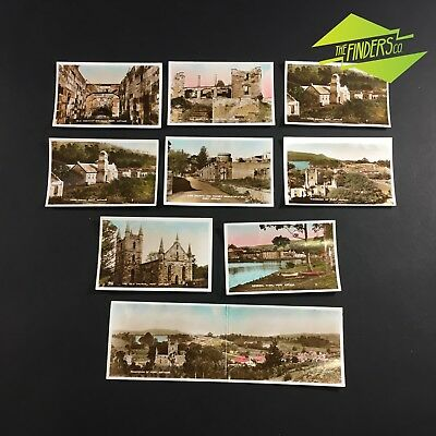 LOT x10 VINTAGE c.1940's PORT ARTHUR TASMANIA PHOTOGRAPHS CONVICT-ERA HISTORICAL