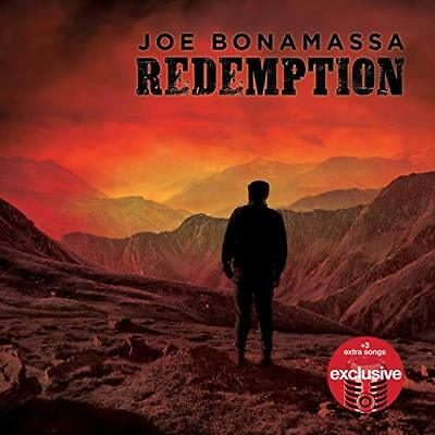CD Joe Bonamassa Redemption (2018) Deluxe Edition 3 extra tracks *FREE Shipping*
