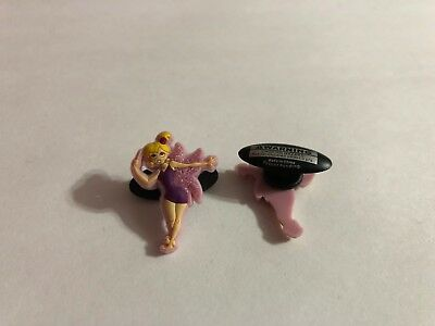 Pink Fairy Shoe-Doodle goes in holes of Rubber Shoes or Crocs Shoe Charm StB012
