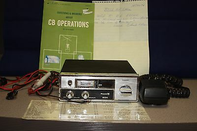 teaberry five by five cb radio 42 49 picclick vintage royce 604 cb radio 1977 microphone wiring book by leo g