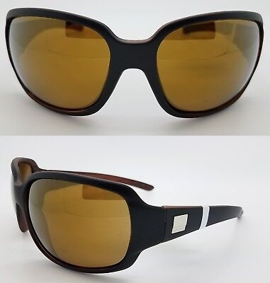 bc11e4d41cd NEW Suncloud sunglasses Cookie Matte Black Sienna Mirror Polarized Women s  Large