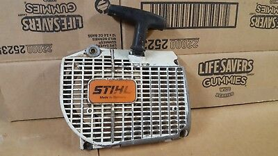 Starter Recoil Cover Assembly  Stihl  044 Ms440 Ms460 046 Chainsaws Rewind