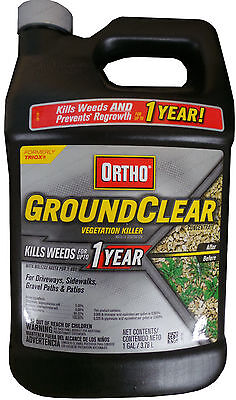 """Ortho Ground Clear Herbicide """"Kills Weeds for up to 1 Year"""" - 1 Gal"""