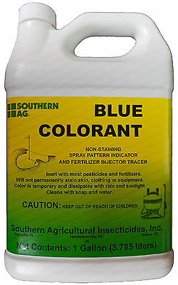 SouthernAG Blue Colorant (Spray Pattern Indicator, No-Stain) - 1 Gal