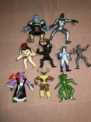 VINTAGE Power Rangers monsters Evil Space Aliens 1990's lot of 9 Action Figures