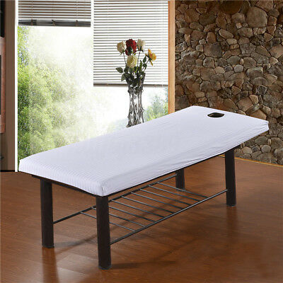 AU Quality Massage Bed Table Soft Cover Salon Spa Couch Sheet Bedding With Hole