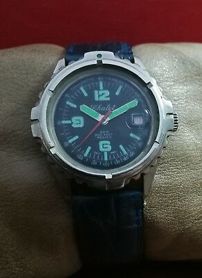 CHALET DIVER 60m/200 feet EB8810 VINTAGE 60's RARE SWISS WATCH.