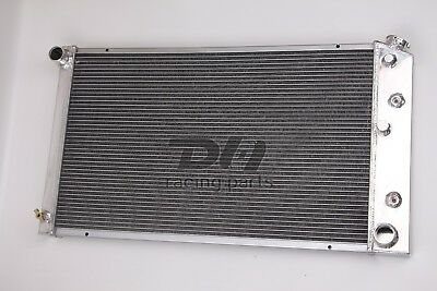 """3 Rows ALL Aluminum Radiator fit 1979-1987 Chevrolet Bel Air MANY GM   21/"""" CORE"""