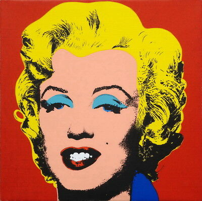Andy Warhol Marilyn Monroe Giclee Art Paper Print Poster Reproduction