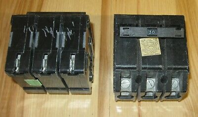 15A Taylor Crouse Hinds 3 pole Circuit Breaker NEW IN BOX!!