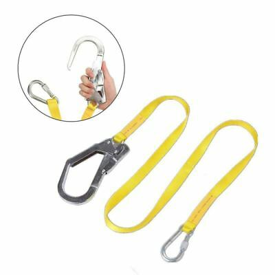 Safety Lanyard, Outdoor Climbing Harness Belt Lanyard Fall Protection Rope  P4H8
