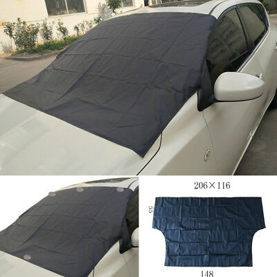 Parabrisas Coche Cubierta Nieve Impermeable Ice Frost Protector Magnético Sombra