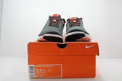 dce1c6f0ba275 Nike Flex Experience RN 5 Mens Running Shoes 12.5 Anthracite Crimson 844514  001