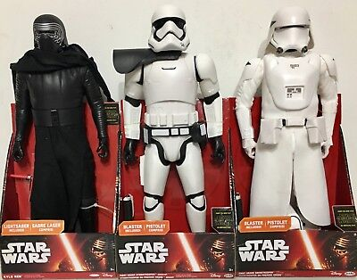 "Jakks Pacific Star Wars The Force Awakens Big-Figs 18"" Action Figures Lot of 3"