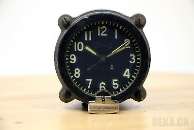 Good! 127-ChS Clock for Soviet tanks MADE in USSR AChS, Aircraft, MIG, RARE!