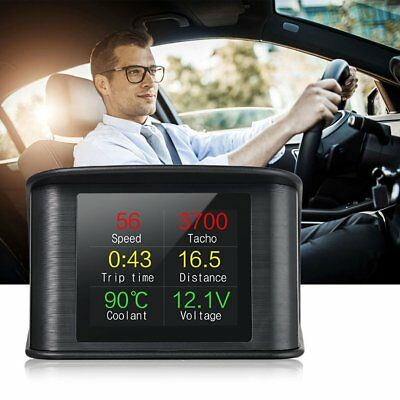 On-board Driving Computer OBD Smart Digital Meter Heads Up Display Car HUD AZ~5